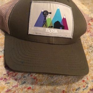 Noosa branded trucker hat